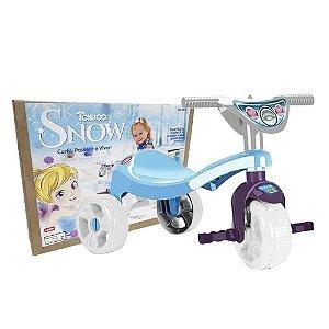 Triciclo Velotrol Infantil Tchuco Princesa Da Neve Snow