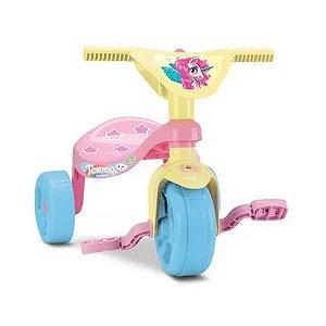Triciclo Infantil Rosa Unicórnio Velotrol Meninas