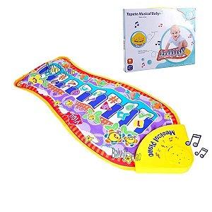 Tapete Musical Bebê Infantil Com Som e Luz