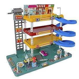 Brinquedo Carrinhos Posto Mega Center Grande Meninos