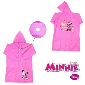 Capa de chuva Infantil Estampa Minnie Meninas