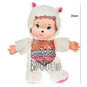 Brinquedo Boneca Macia Fuffly Lhama Meninas Coleção