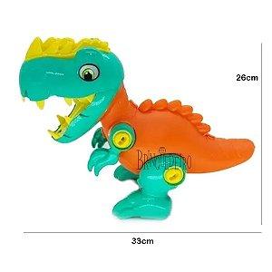 Brinquedo Para Bebê Dinossauro Rex Monta e Desmonta