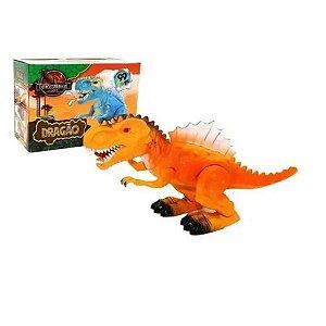 Brinquedo Dinossauro Com Som e Luz Grande Meninos