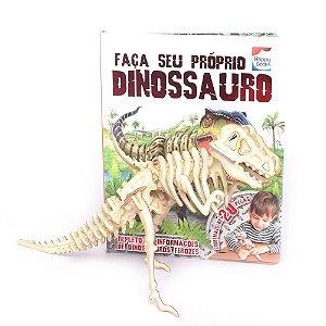 Livro Infantil Faça Seu Próprio Dinossauro - Happy Books