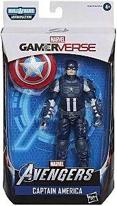 Boneco Articulado Capitão América Vingadores Gamerverse