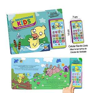 Livro Smartphone Celular Kids Duque Aprende a Nadar