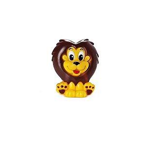 Brinquedo Leão de Vinil Brincar e Dar Banho