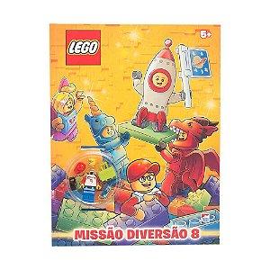 Livro Lego Missão Diversão 8