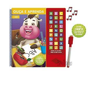 Coleção Livros Ouça e Aprenda - Alfabetos