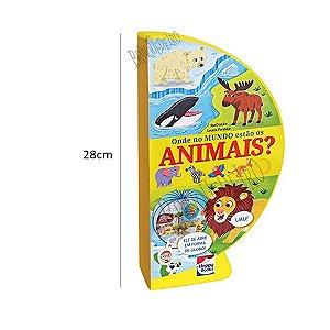 Livro Globo Onde No Mundo Estão os Animais Educativo