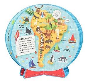 Meu Primeiro Atlas Em 3d Livro Globo