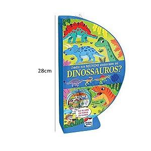 Livro Globo Onde Estavam os Dinossauros