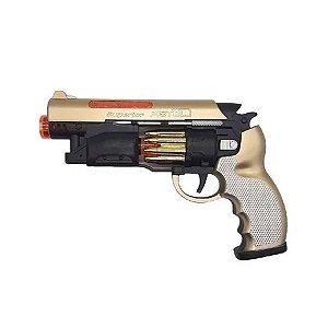 Arma de Brinquedo Pistola Com Som e Luz