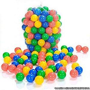Kit 100 Bolinhas coloridas para piscina