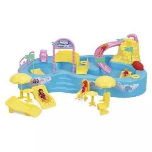 Brinquedo Parque Acquático Acessórios Sai Aguá de Verdade