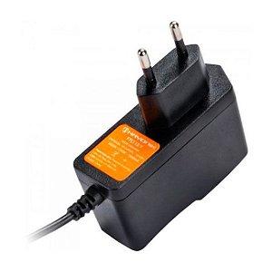 Fonte 12V 1A Chaveada Entrada Bi-Volt Plug P4 - Hayonik