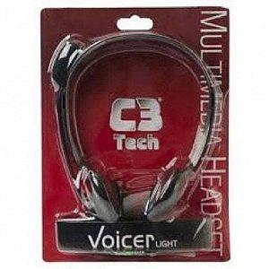 Headset Para Skype Fone e Microfone - C3 Tech