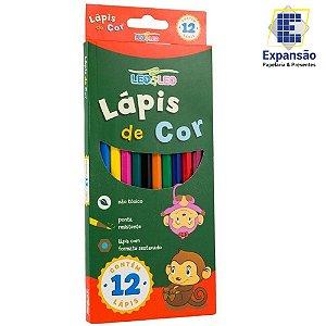 Lápis de Cor 12 cores Sextavado Leo & Leo - Leonora