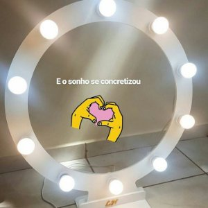 Ring Light para 60 cm para 10 lampadas