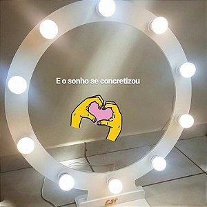 Ring Light para 60 cm para 10 lampadas