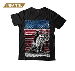 Camiseta Infantil Eloko American Cowboy