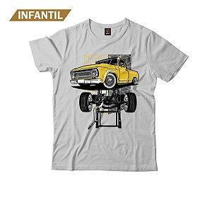 Camiseta Infantil Eloko C10 Chassi Amarela