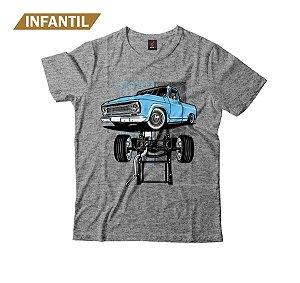 Camiseta Infantil Eloko C10 Chassi Azul