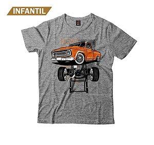 Camiseta Infantil Eloko C10 Chassi Laranja