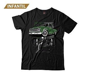 Camiseta Infantil Eloko C10 Chassi Verde