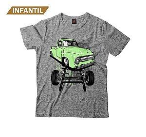 Camiseta Infantil Eloko F100 Chassi Verde