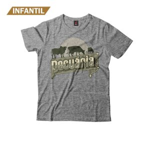 Camiseta Infantil Eloko Pecuária