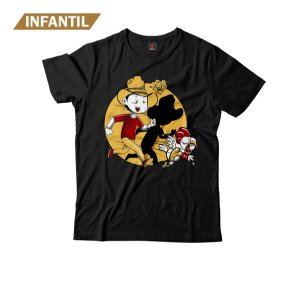 Camiseta Infantil Eloko O Pega Frango