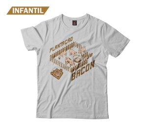 Camiseta Infantil Eloko Plantação de Bacon
