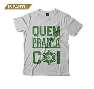 Camiseta Infantil Eloko Quem Pranta Cói