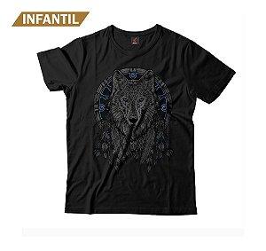 Camiseta Infantil Eloko The Wolf