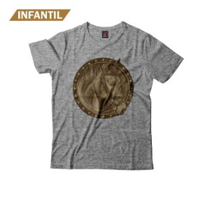 Camiseta Infantil Eloko Wood Horse