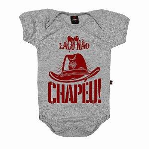 Body Baby Eloko Laço Não, Chapéu!