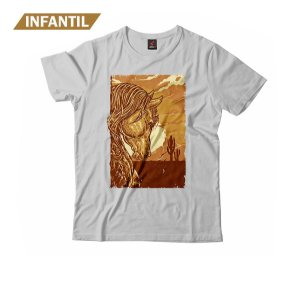 Camiseta Infantil Eloko Cavalo Lateral
