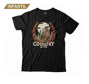 Camiseta Infantil Eloko Country Life