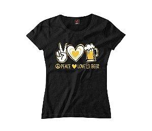 Baby Look Eloko Peace, Love, Beer