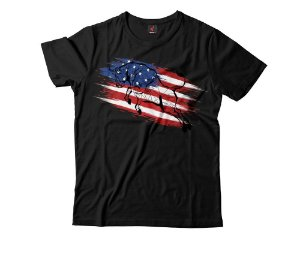 Camiseta Eloko Bull on Flag