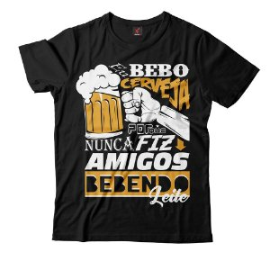 Camiseta Eloko Eu Bebo Cerveja