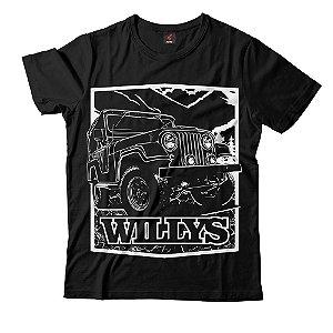 Camiseta Eloko Jeep Willys