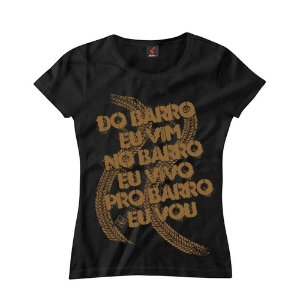 Baby Look Eloko Sou do Barro