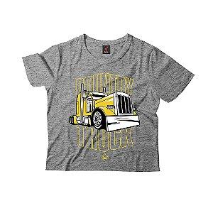 Camiseta Infantil Eloko Country Truck - Amarelo