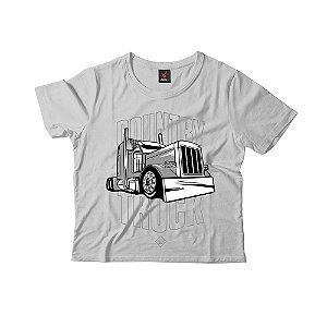 Camiseta Infantil Eloko Country Truck - Cinza