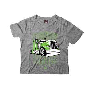 Camiseta Infantil Eloko Country Truck - Verde