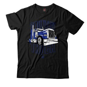 Camiseta Eloko Country Truck - Azul