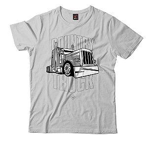 Camiseta Eloko Country Truck - Cinza